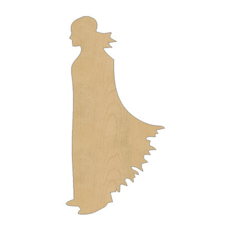 10pcs laser cut wood wooden dracula vampire shape diy craft gift tag happy halloween decorations