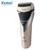 Frete grátis km-8102 kemei barbeador elétrico recarregável dupla lâmina eletrônico à prova d' água de barbear lâminas de barbear dos homens barbeador cuidados faciais
