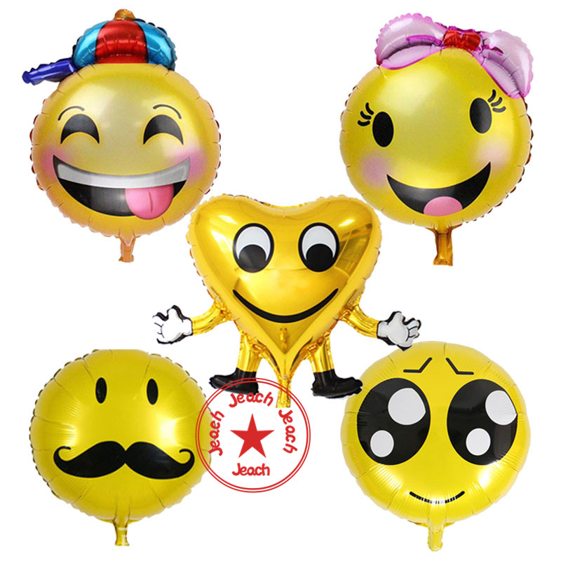 Smiley Balloon Decoration Wedding Party Emoji