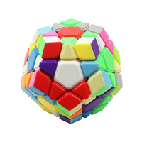 Classic Puzzle Magic Cube Puzzle Twist Fidget Toy 12 Sided Cube Neokub Mini Color Neo Cubo