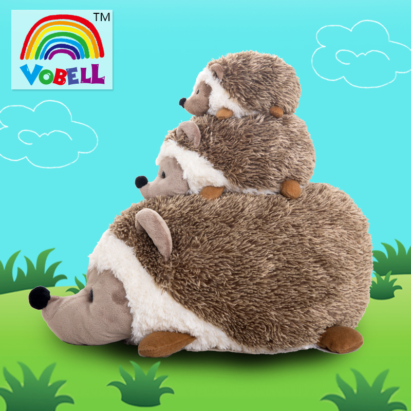 Candice guo plush toy stuffed doll animal hedgehog Heterothermic sofa pillow cushion bedtime story Christmas birthday gift 1pc детство отрочество повести