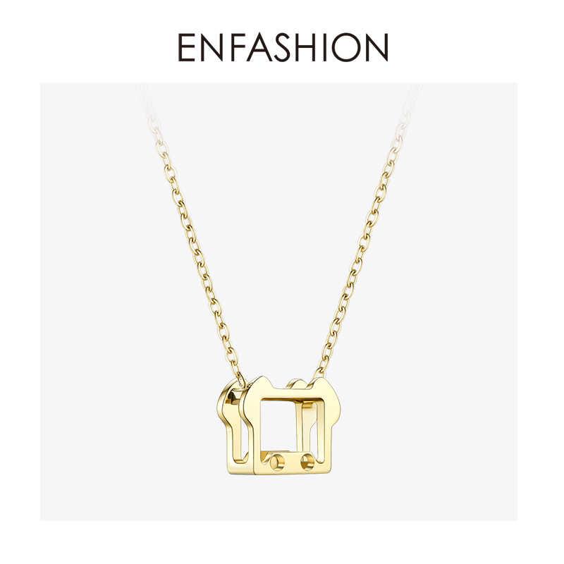 Enfashion chiński naszyjnik z zodiakiem zwierząt etniczne osobowości naszyjniki wisiorki kobiety szczęście Choker naszyjnik biżuteria collane