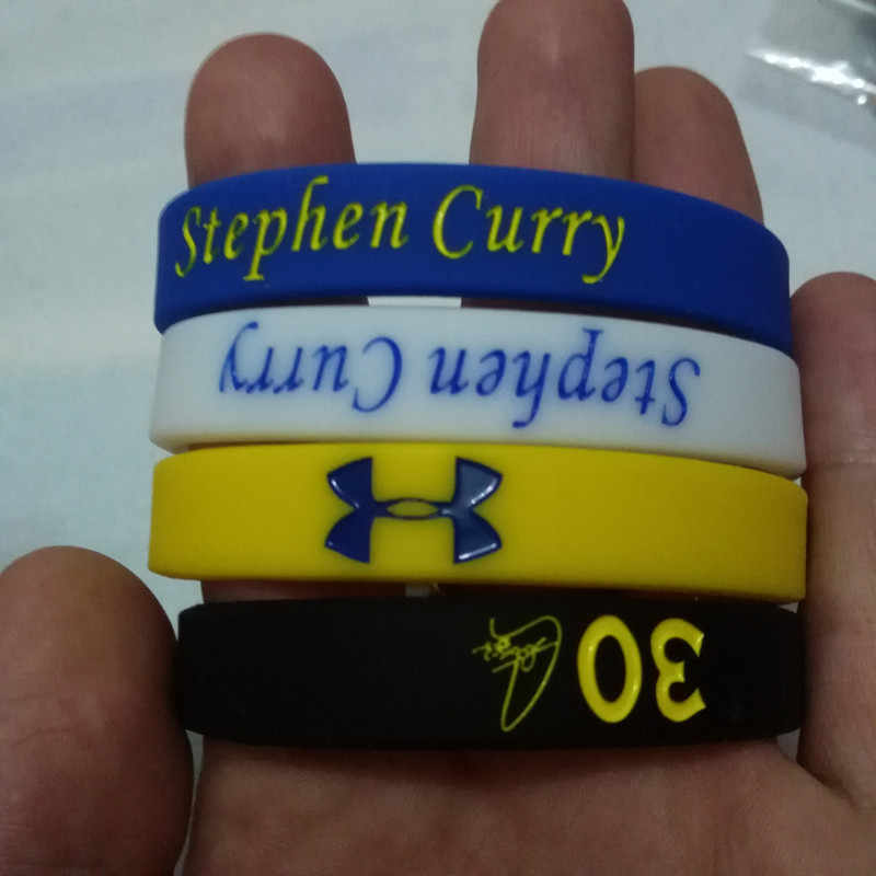 all star MVP signature silicone Bracelet Mix type Stephen Curry No.30 Kevin Durant No.35 Klay Thompson No.11