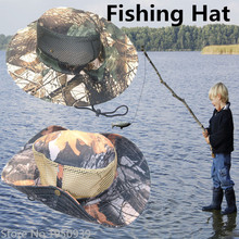 Hot Selling Camping Hiking Hunting  Equipment Outdoor Hats  Mesh Caps  Fishing  Hats For Men Fishing Caps Camouflage