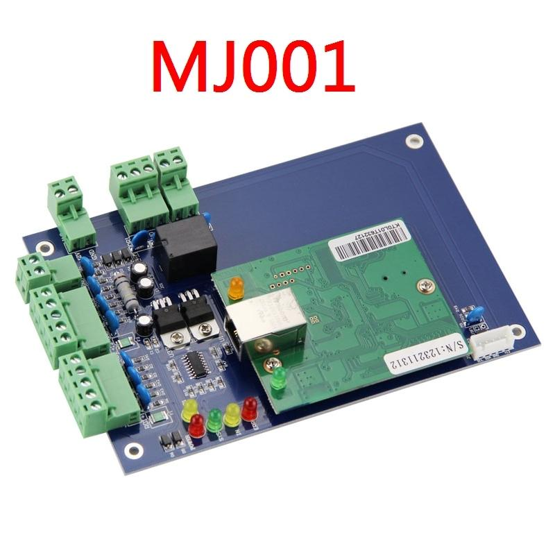 цена на TCP/IP Ethernet Network Access Control Board Controller For 1 Door 2 RFID Reader