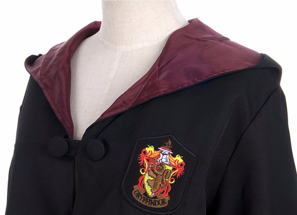 HTB1KuLBaXuWBuNjSspnq6x1NVXas - Robe Gryffindor Slytherin Ravenclaw Hufflepuff Cosplay Costumes Kids Adult Cape Cloak Matching Birthday Gifts Harris Costume