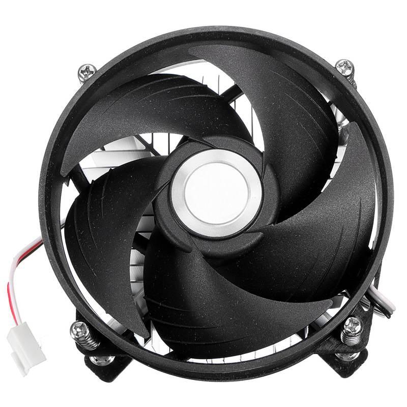 LED Heatsink Aluminum LED Heat Sink Cooling Cooler Fan For 30W 50W 100W High Power Light Bulb Lamp DC12V