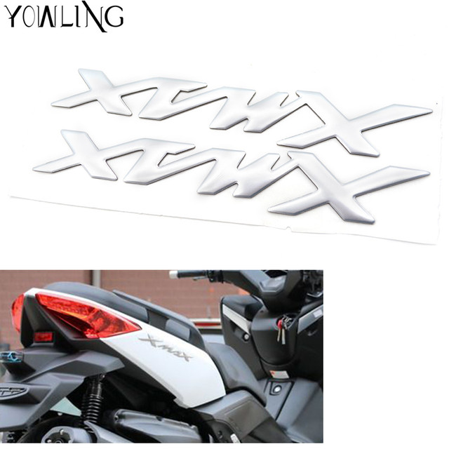 For yamaha x max xmax 125 250 400 motorcycle decals stickers emblem badge 3d decal
