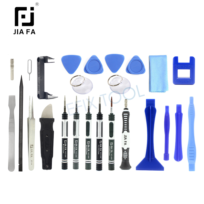 26 in 1 Mobile Phone Opening Pry Repair Toolkit For iPhone Tablet PC Laptop Disassemble Repairing Hand Tools JF-8150 hot sale screwdriver set repair tools mobile phone repairing opening tool for iphone laptop tablet smartphone free shipping