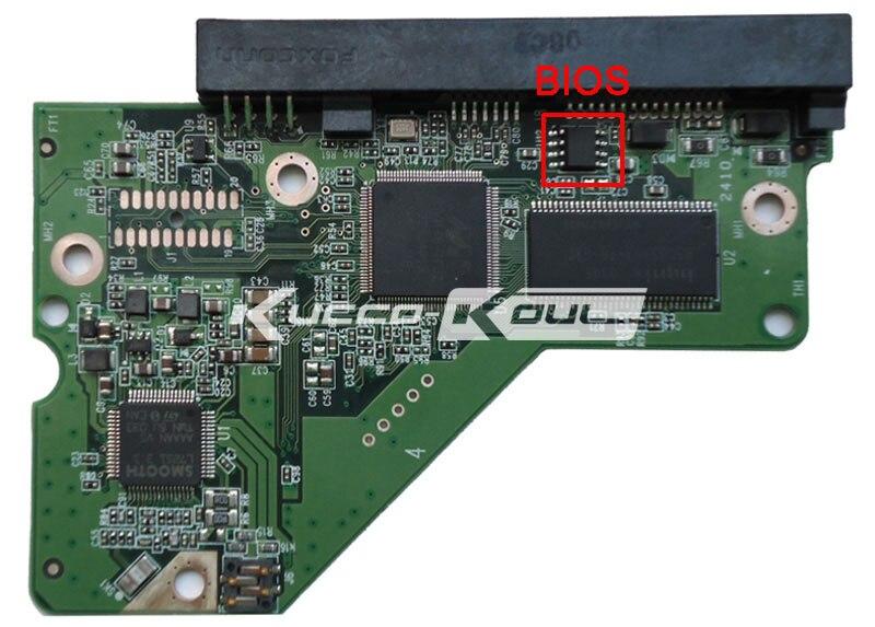 HDD PCB Logic Board Printed Circuit Board 2060-771984-000 REV P1 for WD 2.5 SATA SSHD WD10S12X Hard Drive Repair Data Recovery