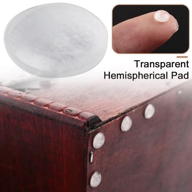 50pcs/250pcs Rubber Bumper Damper Rubber Feet Pads Hemispherical Shape Silicone Feet Pads Shock Absorber Furniture Legs Supplies 4
