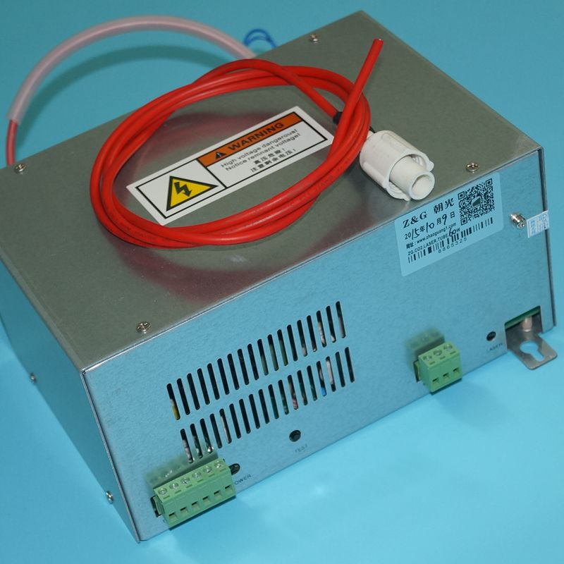 60W Power Supply 110V 220V for CO2 Laser Tube 50w 60w ZuRong high voltage flyback transformer for co2 50w laser power supply