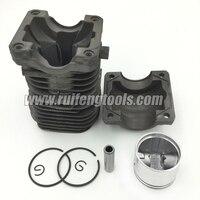 Tronçonneuse cylindre et piston assy fit pour Partenaire 350 cylindre kits tronçonneuse pièces de rechange