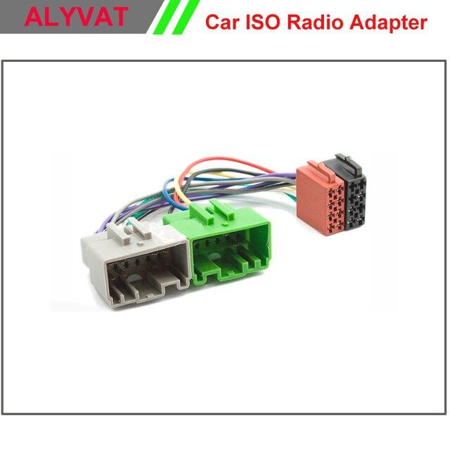 Estéreo de coche ISO arnés de cableado para Volvo S40 V40 S70 V70 S60 S80 Auto Radio adaptador de conector de adaptador de Cable cable de enchufe