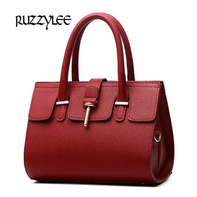 New Women Handbag Satchels Women's Shoulder bag Female Leather Ladies 2016 Brand Womens Messenger Crossbody Bags L-H-084