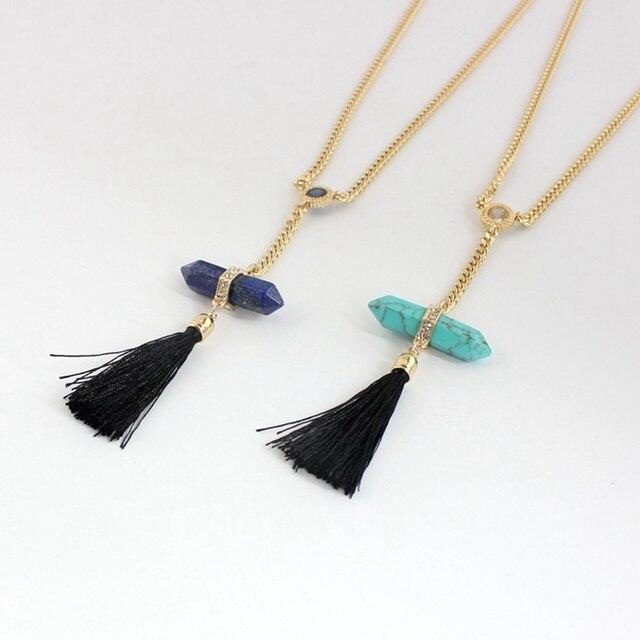 Купить chicvie этнические ожерелья с кисточками для женщин длинные