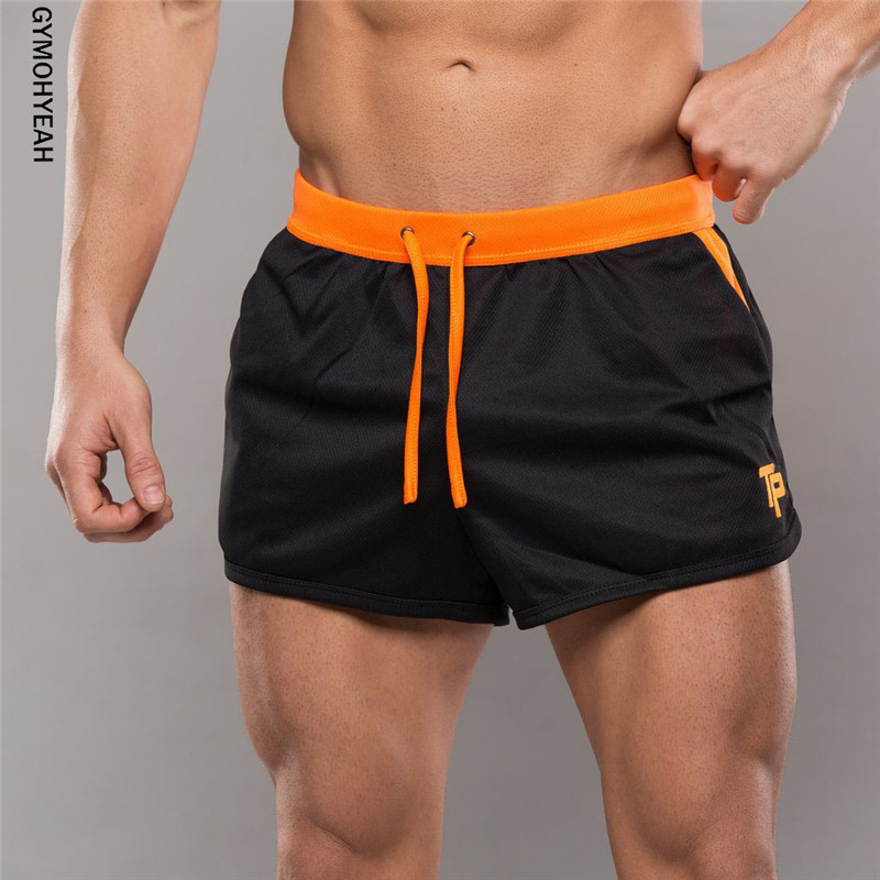 GYMOHYEAH Quick Dry Clothes Mens New Casual Shorts Household Male Shorts Bandage Straps Inside Trunks Beach Casual GYMS Shorts