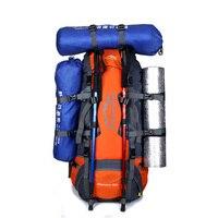 Горячая Открытый Спортивная Сумка 80L Кемпинг Пеший Туризм рюкзак путешествия туристические рюкзаки Альпинизм оборудовать Для мужчин t или