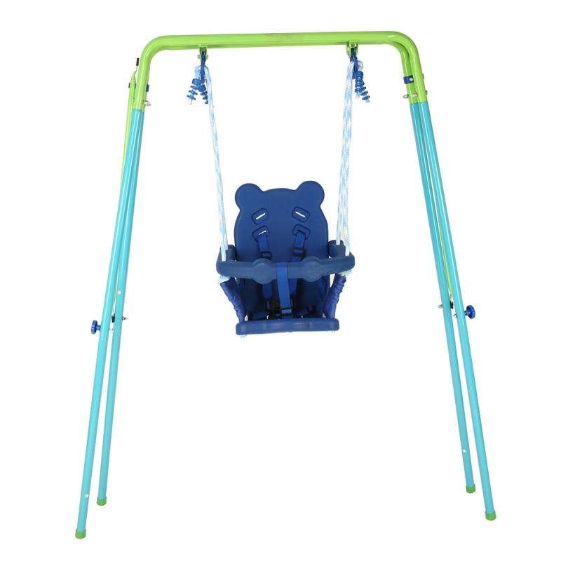Enfant balançoire extérieure aire de jeux accessoire maison cour enfants jeu balançoire sûre parc école balançoire drôle pour bébé tout-petit