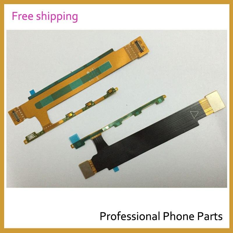 Original Cellphone Parts Replacement Power Button Key Flex Cable For Sony Xperia T3 D5102 D5103 D5106 C6806