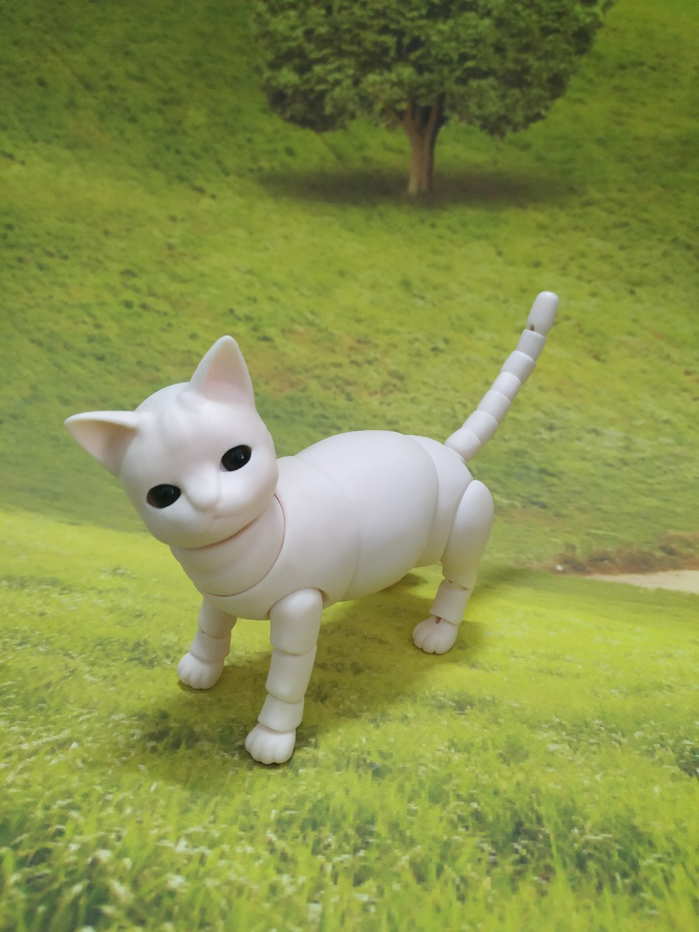 Bjd animal doll British short blue cat