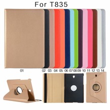 360 Degree Rotating Smart Leather PU Case For Samsung Galaxy Tab S4 10.5 SM-T830 SM-T835 T830 T835 Cover