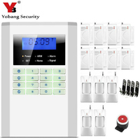 Cheap Wireless Alarm Systems Security Home Russian Spanish English Voice GSM PSTN Alarm System With Door