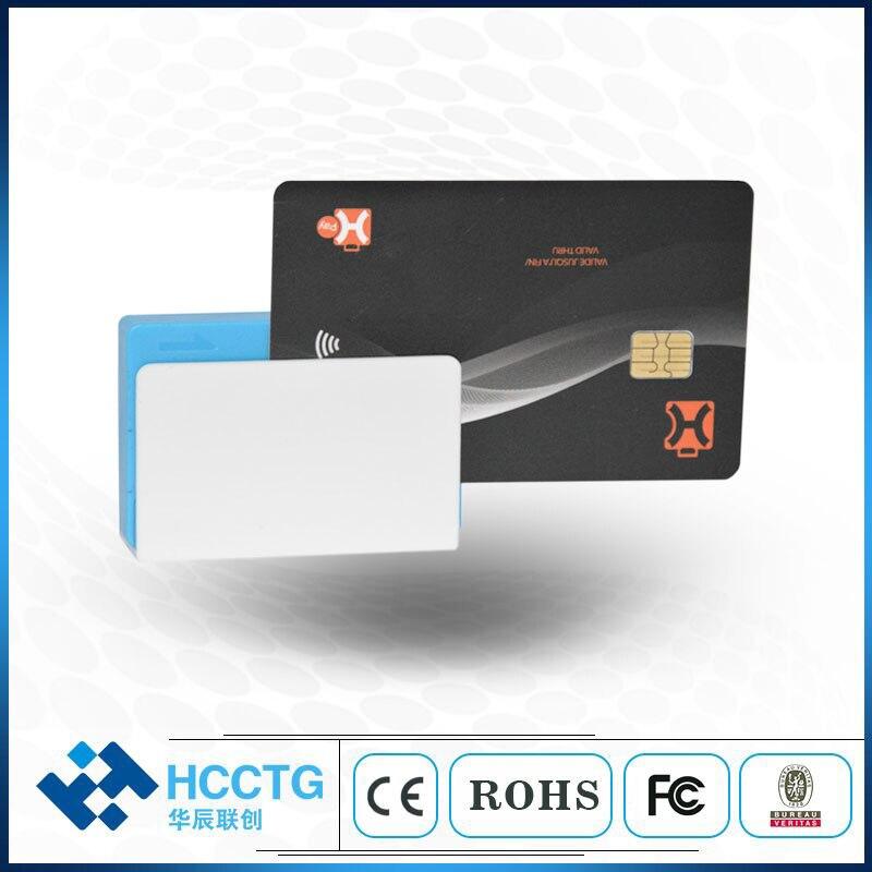 Мини мобильный платежный трехв-1 мобильный считыватель карт Bluetooth с контактом/Бесконтактная карта с интегральной схемой MPR110 SDK для IOS и Android OS