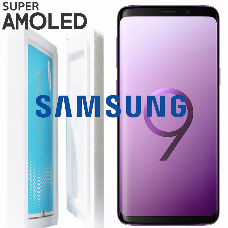 ORIGINAL SUPER AMOLED LCD with Frame for SAMSUNG Galaxy S9 S9 Plus G960 G965 Display Touch