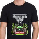 Printed T Shirts Online Novelty Monster Jam Grave Digger Monster Truck T Shirt Black Size S to 3XL Crew Neck Short-Sleeve Mens