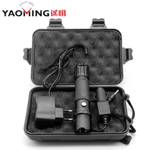Protable linternas Cree q5 waterproof rechargeable powerful led police flashlight outdoor lighting by 18650 or 3*AAA torche