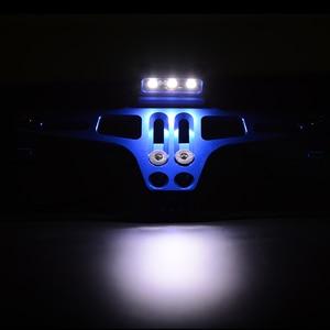 Image 5 - Motorcycle Adjustable CNC License Number Plate Holder LED Light Bracket FOR TRIUMRH 675 STREET TRIPLE R/RX 2009 2016 BMW Honda