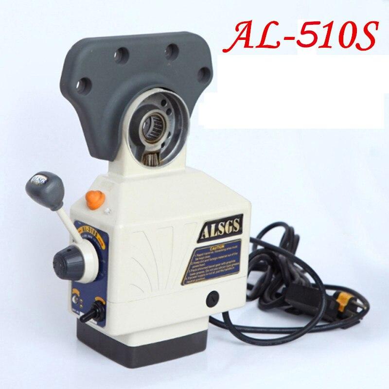 AL-510S Moagem 650in-lb 200 RPM Máquina de Alimentação de energia AC 220 V/110 V Torque Maior Fresadora X Y alimentador Automático de eixo Z