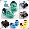 Muitos Estilo Baby First Walkers Sapatos Recém-nascidos Sapatos Da Moda Sapatos Macios Sapatos Da Criança Do Bebê Sapatos Para Meninos do Miúdo Da Menina verde
