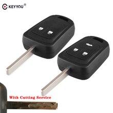 Fob Remote-Key-Case Sonic Chevrolet Aveo For Opel Cruze 2-Button KEYYOU Malibu Car-Styling