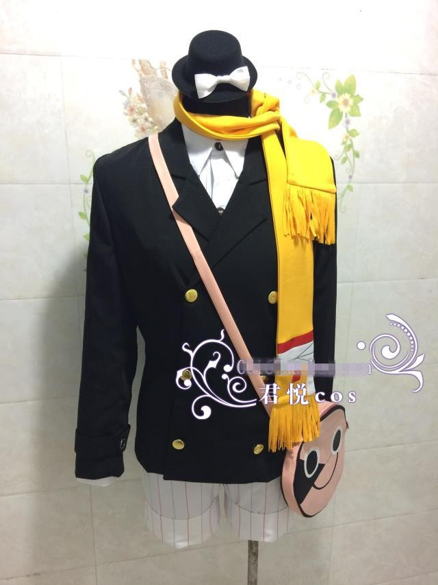 Anime bungo stray dogs cosplay costume
