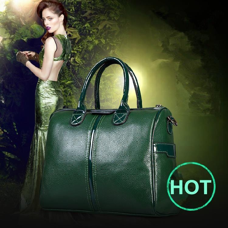 цена на New Genuine Leather Bag Vintage Cowhide Women Handbag Shoulder Bag Fashion Women Messenger Bags Trendy Bolsas Hot Crossbody Tote