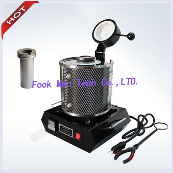 220V Jewelry Tools 1kg Portable Gold Melting Furnace Gold Silver Smelter 1 Crucible 1 Tong Included gold mtv trophy replica 1 1 size statue moonman prop high quality silver plated 1 1kg