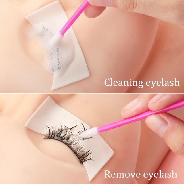 50pcs Disposable Eyelashes brush Individual Lash Removing Cleaning  Mascara Applicator Makeup Brushes For Eyelash Extension Tool 4