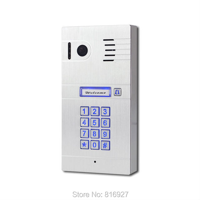 Promotion World First 4g Wifi Door Entry System Two Way Intercom