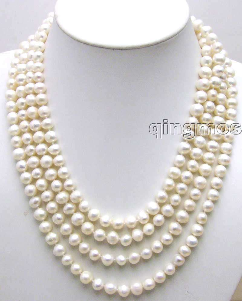 SALE Big 9-10mm Super Long 80 inch  round natural White Freshwater Pearl Necklace-nec1074_10 Free shipping Free shippingSALE Big 9-10mm Super Long 80 inch  round natural White Freshwater Pearl Necklace-nec1074_10 Free shipping Free shipping