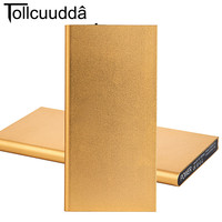 Tollcuudda 10000 MAh ROCK Portable Ultra Thin Powerbank Battery Power Bank DYCB01 GD
