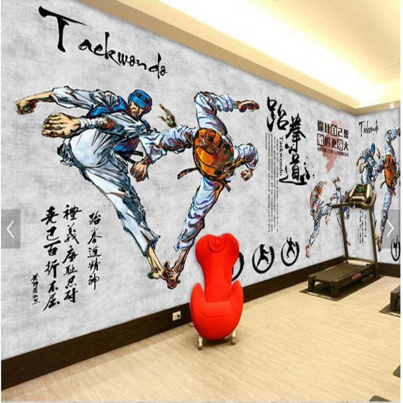 Sports Wall Murals large sports wall murals promotion-shop for promotional large