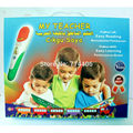 My teacher Arabic French Malay and English 4 language reading pen with 8learning books,educational machine children fashion gift