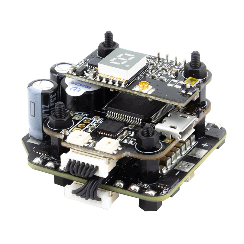 EMAX Mini Magnum II 2 F4 Flying Tower Flytower 4 in1 OSD VTX 6S BLHELI 32BIT 35A Flight Controller for FPV Racing Drone Parts emax f4 magnum all in one fpv stack tower system f4 osd 4 in 1 blheli s 30a esc vtx frsky xm rx for rc models multicopter