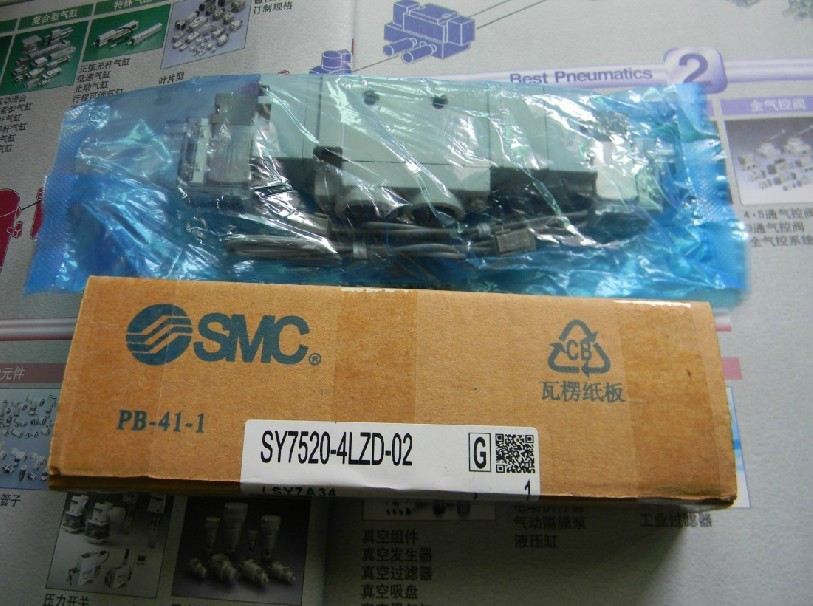 цена на BRAND NEW JAPAN SMC GENUINE VALVE SY7520-5GD-02