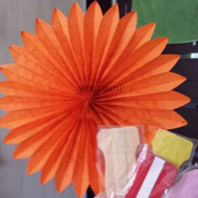 Aliexpress Buy 5pcs 615cm Paper Fan Flower Diy Decorative