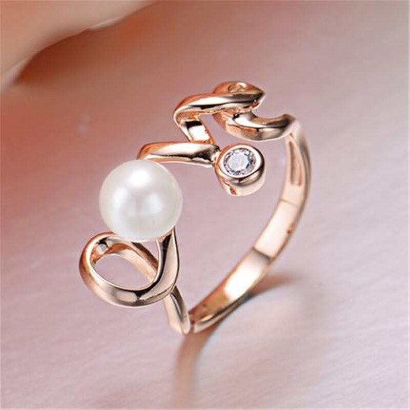 Aliexpress Com Buy Yikalaisi 2017 New 100 Pearl Ring Jewelry Love