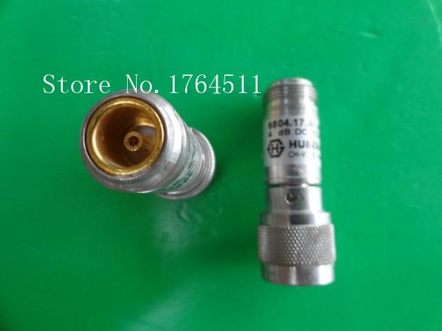 [BELLA] H+S 6804.17.A DC-12.4GHz Att:4dB 2W N Coaxial Fixed Attenuator