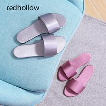 Women Summer Slippers Fashion Slides Flip Flops Flat Shoes Indoor Home Floor For